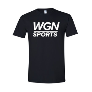 Men's Black WGN Sports T-shirt